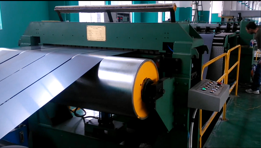 Silicon steel rolling shear line for Transformer Lamination