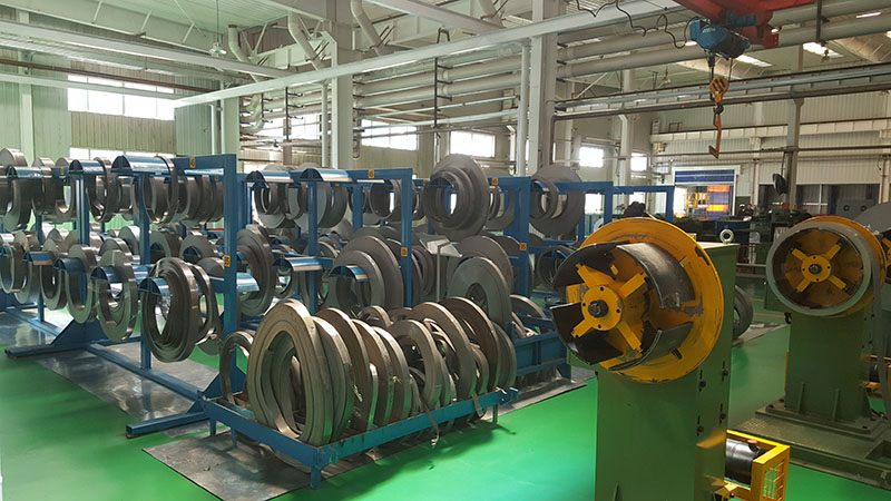 Electrical steel rolling shear line sample